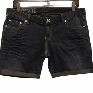 Hurley jean shorts new condition size 28